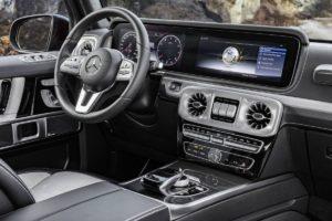 Unutrašnjost novog Mercedesa G klase