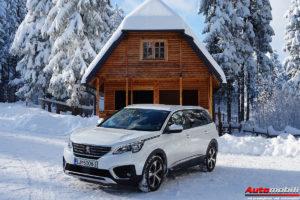 Test: Peugeot 5008 Allure 1.6 BlueHDi 120 Stop&Start EAT6 – Lav u snijegu II