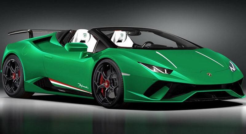 Lamborghini Huracan Performante Spyder Na Sajmu U Ženevi