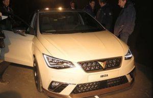 Seat Ibiza Cupra uhvaćena prije premijere u Ženevi