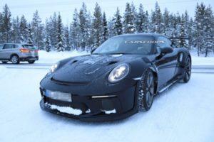 Snimljen 2019 Porsche 911 GT3 RS