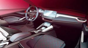 Unutrašnjost Škode Vision RS Concept