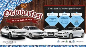 Oktoberfest u Porsche Sarajevo salonima