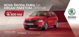 AKCIJA! Nova Škoda Fabia sa Dream paketom opreme već od 18.300 KM