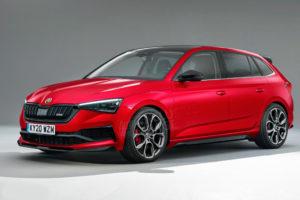 Nova Škoda Scala vRS