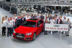 Audi A4 slavi 25 rođendan