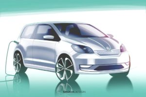 Škoda objavila skice električnog Citigo-E iV
