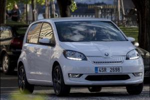 Snimljena električna Škoda Citigo-e iV
