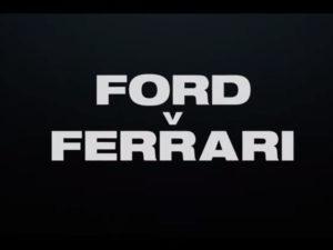 Najava za film Ford v. Ferrari