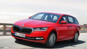 Škoda Octavia IV prvo će se predstaviti u combi izvedbi
