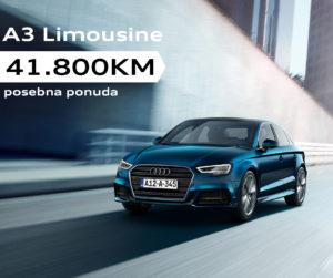 Posebna ponuda: Audi A3 Limo za 41.800KM
