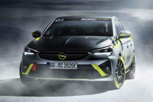 Opel Corsa-e Rally –  prvi električno pokretani reli automobil