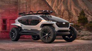 Audi AI TRAIL Quattro – električni OFF ROAD koncept budućnosti