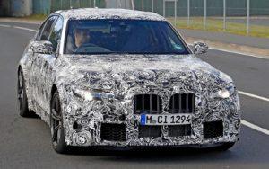 BMW M3 – testovi na Nürburgringu