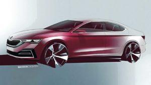 Nova Škoda Octavia najavljena atraktivnim skicama