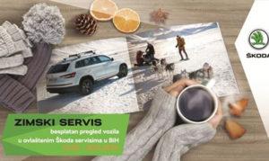 ŠKODA besplatna zimska servisna akcija od 01.10.-31.11.2019