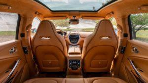 Unutrašnjost Aston Martina DBX pravljena u Bosni i Hercegovini