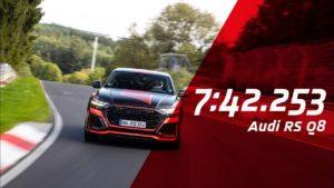 Audi RS Q8 postavio novi rekord za SUV vozila na Nuerburgringu