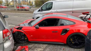 Slupao novi Porsche 911 GT2 RS od 235.000 eura poslije samo nekoliko minuta nakon preuzimanja