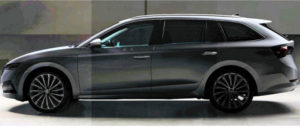 Nova Škoda Octavia Combi – prva slika?