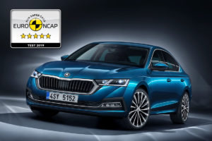 Nova ŠKODA OCTAVIA osvojila 5 zvjezdica na Euro NCAP testiranju