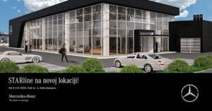 Mercedes-Benz STARline u novom salonu i sa novim servisnim centrom