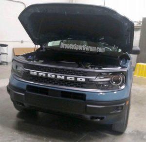Procurile prve slike novog Ford Bronco Sport