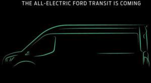 Najavljen električni Ford Tranzit