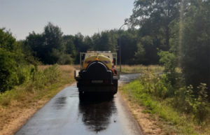 Za vrijeme najvećih vrućina Holanđani zalijevaju ceste slanom vodom!