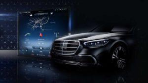 Mercedes ove sedmice predstavlja ogromni ekran u S klasi, ali mi već imamo sliku
