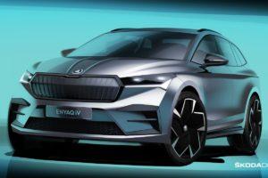 Električna Škoda Enyaq debituje 1. septembra. S jednim punjenjem prelazi 500 km
