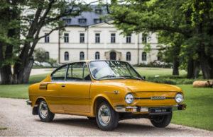 Škoda 110 R elegantni kupe slavi 50-i rođendan