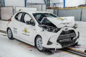 Nova Toyota Yaris odlikaš na prvom testu prema novim pravilima Euro NCAP-a