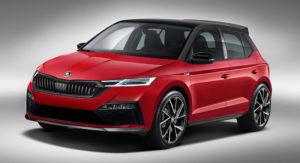 Ovako bi mogla da izgleda nova Škoda Fabia