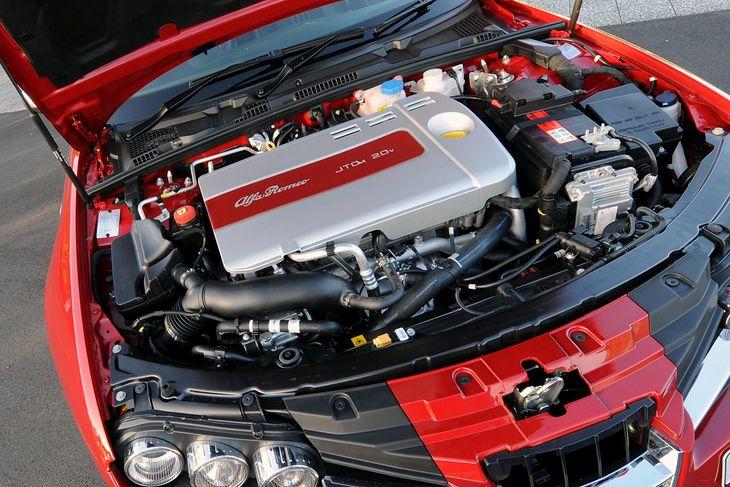5-cilindrični dizel 2.4 JTDM povučen je uvođenjem Euro 5 standarda