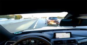 Vozio je BMW 280 km/h, a onda mu je u traku ušla Mazda