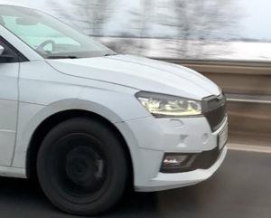 Snimljena nova Škoda Fabia
