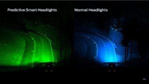 Fordova nova svjetla za automobile se prilagođavaju krivinama pomoću GPS-a