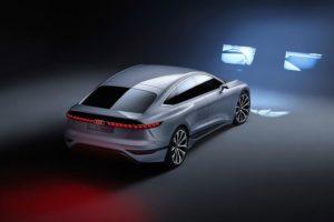Svjetla Audija A6 e-tron prikazivat će sliku kao u kinu za vrijeme punjenja