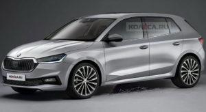 Nova Škoda Fabia na novim renderima