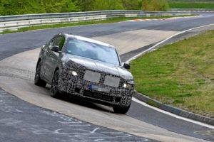 BMW X8 – testovi na Nürburgringu