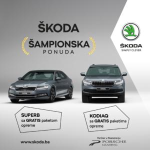 ŠKODA ŠAMPIONSKA PONUDA