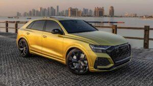 """Vlasnik je čekao godinu dana da preuzme Audi RS Q8 """"Qatar Edition"""". To je vrijedilo čekati"""