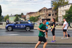 Novi Volkswagen ID.3 i ID4. uspješno završili Sarajevo polumaraton